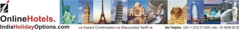 Book Online Hotel Rooms,Instant Confirmation,Cheapest Rate,Heavy Discount