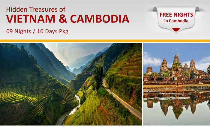 Vietnam, Cambodia, Vacation, Tour, Package, Free Nights, Halong, Siem Reap, IHO