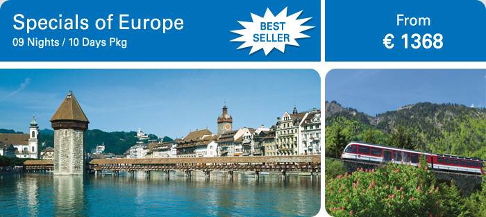 Europe Package 2013, Specials of Europe